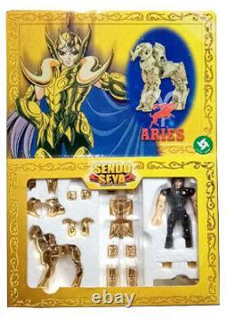 Sendo Seya Saint Seiya Myth Cloth Figure Virgo Aries Pisces Scorpio 4Pack Set