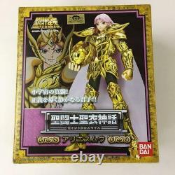 USED BANDAI Saint Seiya Cloth Myth Saint Seiya Aries Mu Action Figure JAPAN