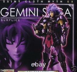 Used Bandai Saint Seiya Saint Cloth Myth EX Gemini Saga Dark Cloth Painted